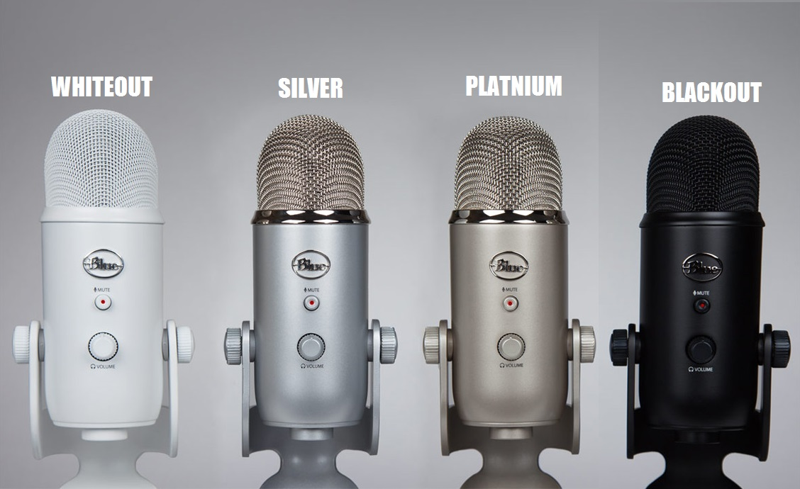 Blue Microphones Yeti See All Colors